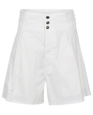 Ponza wide high-waisted cotton shorts ETRO