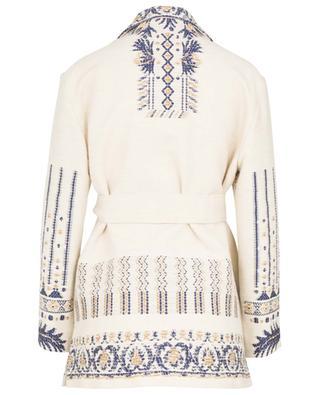 Palmaria ethnical pattern jacquard jacket ETRO