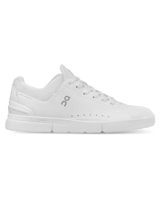 THE ROGER Advantage faux leather and fabric lace-up sneakers ON