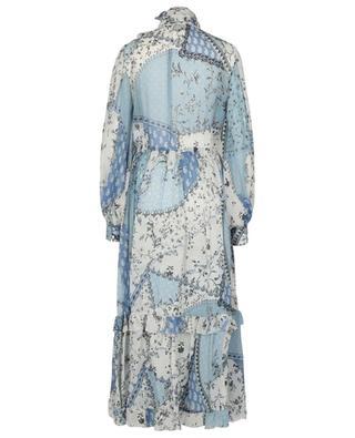 Robe longue en mousseline motif patchwork Chio ETRO