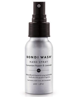 Tasmanian Pepper & Lavender hand sanitiser spray - 50 ml BONDI WASH