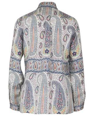 Hemd aus Seidentwill mit Paisley-Print Mini ETRO