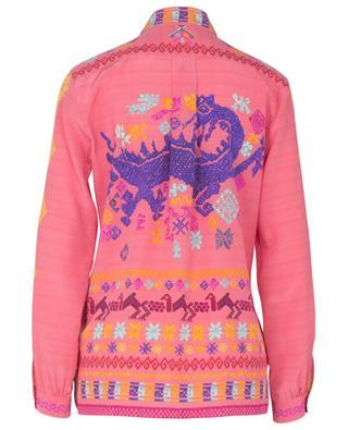 Mini animal print silk crepe shirt ETRO