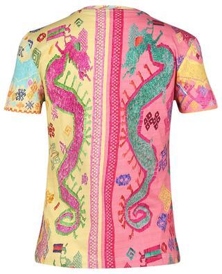 T-shirt ajusté imprimé effet broderie Art Naïf ETRO