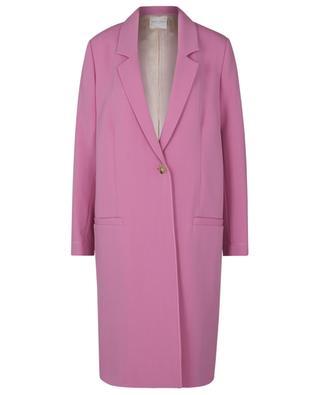 Manteau léger droit en crêpe Rosie FORTE FORTE