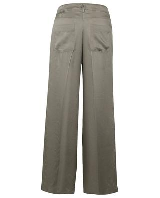 Pantalon large esprit jean en satin marocain FORTE FORTE