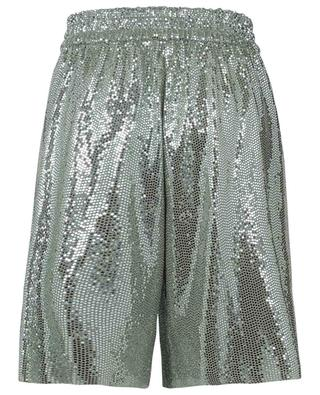 Spangled wide-leg jersey shorts FORTE FORTE
