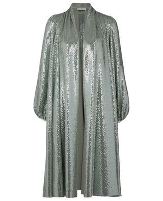 Manteau léger en jersey orné de paillettes FORTE FORTE