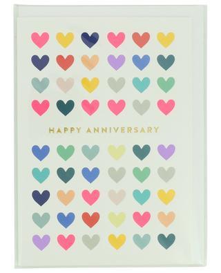Karte mit Umschlag Happy Anniversary LAGOM DESIGN