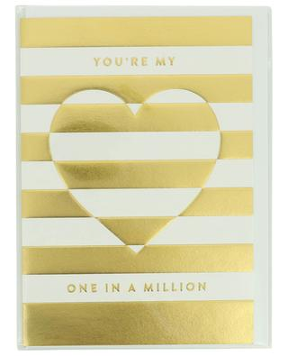 Karte mit Umschlag You're my one in a million LAGOM DESIGN