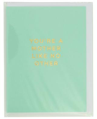 You're a mother like no other card with envelope LAGOM DESIGN