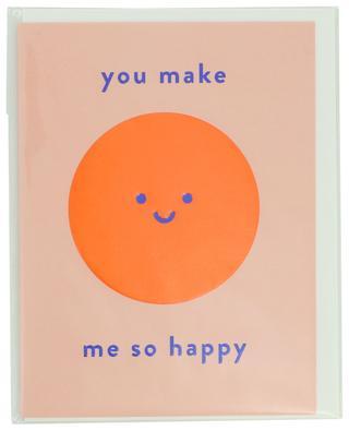 Karte mit Umschlag You make me so happy LAGOM DESIGN