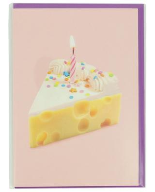 Geburtstagskarte mit Umschlag Käsekuchen LAGOM DESIGN