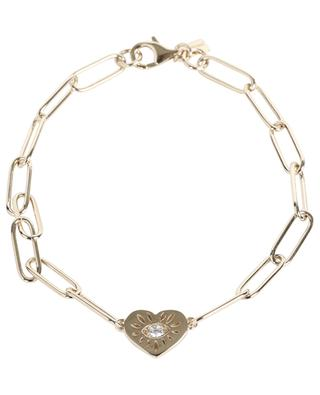 Heart Eye XL link bracelet AVINAS