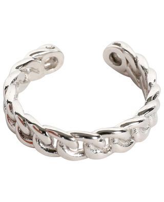Adjustable ring with zircons AVINAS