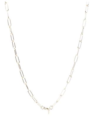 XL link golden rhodium plated silver chain AVINAS