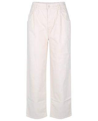 The half spring pleated greaser ankle wide-leg jeans MOTHER