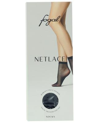 Netlace fine mesh socks FOGAL