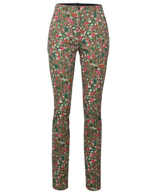Pantalon stretch imprimé Mille-Fleurs MARC CAIN