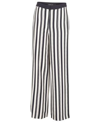 Pantalon large rayée en sergé MARC CAIN