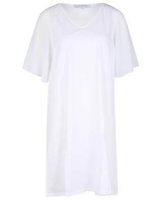 Chemise de nuit en jersey à manches mousseline LAURENCE TAVERNIER