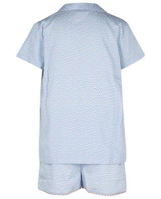 Pyja-short en coton imprimé fleurs LAURENCE TAVERNIER