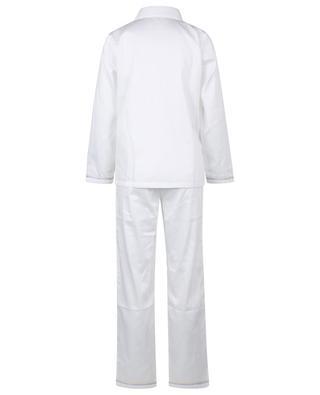 Pyjama brodé en popeline LAURENCE TAVERNIER