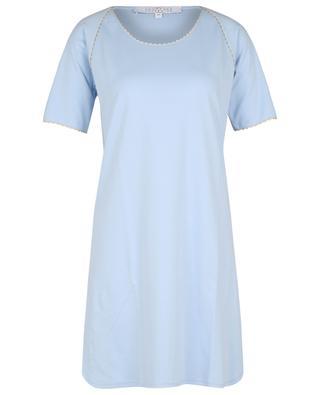 Chemise de nuit en jersey à bords échancrés LAURENCE TAVERNIER
