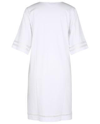 Chemise de nuit en jersey à manches trois-quarts LAURENCE TAVERNIER
