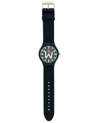 Tokyo black silicone strap wrist watch MADWATCH