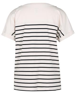 T-shirt ample esprit marinière à col bateau MARC CAIN