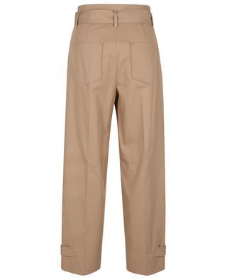 Pantalon décontracté taille haute en sergé MARC CAIN