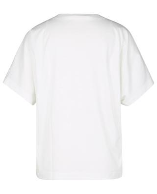 T-shirt ample à col V et manches courtes AKRIS PUNTO