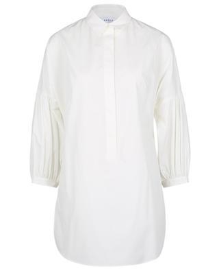 Long poplin blouse with kimono sleeves AKRIS PUNTO