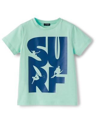 Surf printed boys' T-shirt IL GUFO
