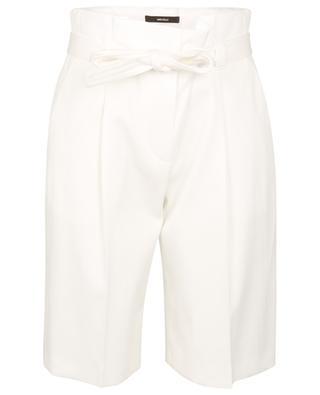 Paperbag-Shorts aus Gabardine WINDSOR
