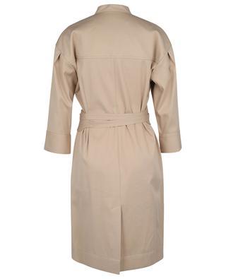 Short gabardine trench dress WINDSOR