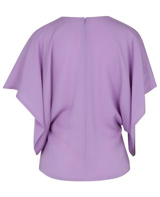 Silk georgette top with kimono sleeves VALENTINO