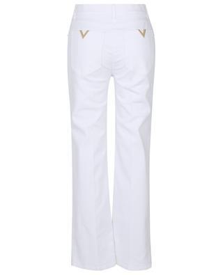 VGold straight white jeans VALENTINO