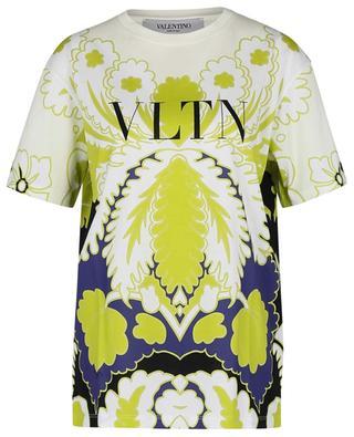 T-Shirt mit Print World Arazzo VLTN VALENTINO