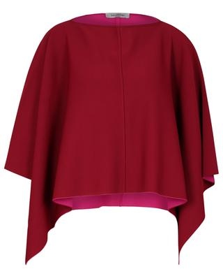 Poncho en maille double-face VALENTINO