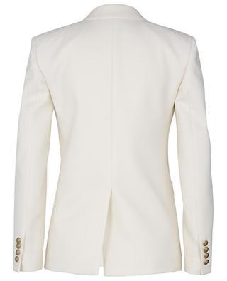 Double-breasted wool twill blazer SAINT LAURENT PARIS