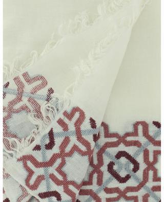 Stola aus Leinen mit Kreuzstich-Stickereien Alhambra SEP JORDAN