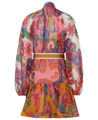 The Lovestruck printed georgette mini dress ZIMMERMANN