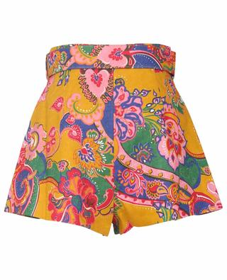 Short en lin imprimé paisley The Lovestruck ZIMMERMANN