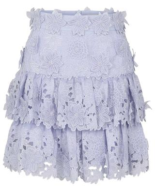 The Lovestruck floral appliqué mini skirt ZIMMERMANN