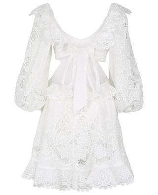 Kleid mit Ausschnitten aus Baumwolle Lulu ZIMMERMANN