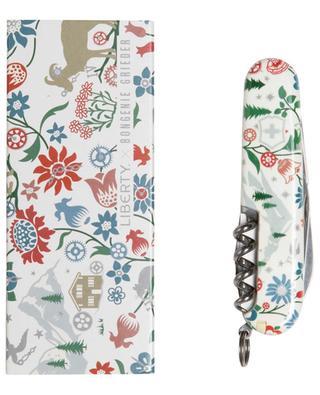 Couteau suisse de poche imprimé Liberty x Bongénie Grieder VICTORINOX