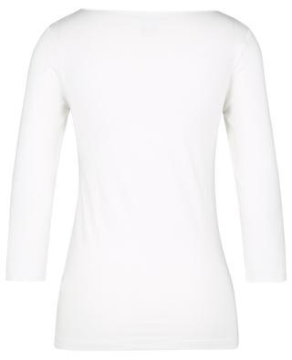 T-shirt col bateau et manches 3/4 Superwashed 'Soft Touch' MAJESTIC FILATURES