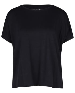 Superwashed 'Soft Touch' T-shirt with short batwing sleeves MAJESTIC FILATURES